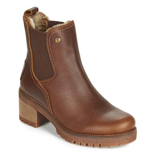 Čevlji  Ženske Gležnjarji Panama Jack PIA Kostanjeva