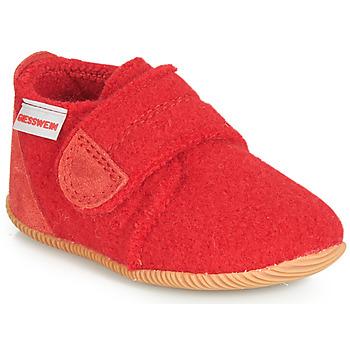 Čevlji  Otroci Nogavice Giesswein OBERSTAUFFEN Rdeča