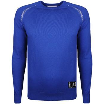 Oblačila Moški Puloverji John Richmond  Modra
