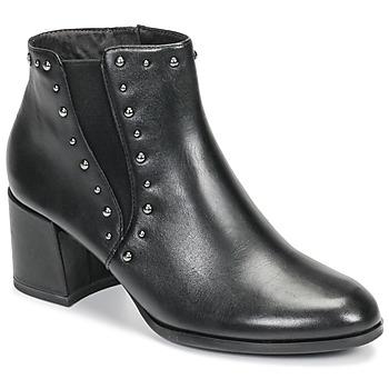 Čevlji  Ženske Gležnjarji Tamaris LOUZI Črna