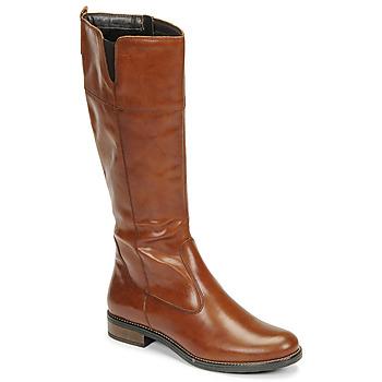 Čevlji  Ženske Mestni škornji    Tamaris CARI Cognac