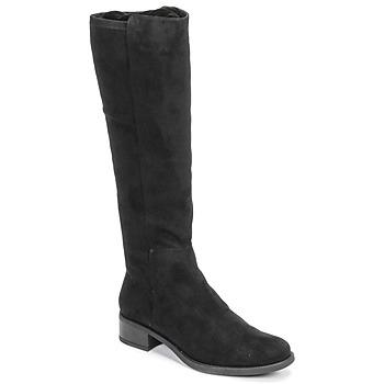 Čevlji  Ženske Mestni škornji    Unisa ELIZA Črna