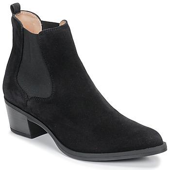 Čevlji  Ženske Gležnjarji Unisa GREYSON Črna