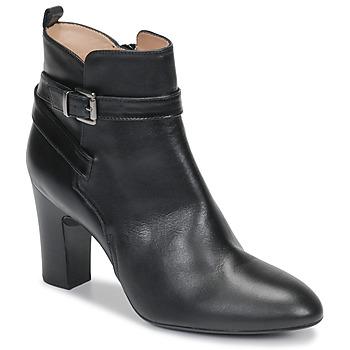 Čevlji  Ženske Gležnjarji Unisa UMBRIA Črna