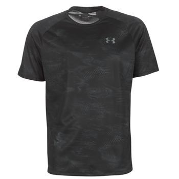Oblačila Moški Majice s kratkimi rokavi Under Armour TECH 2.0 SS PRINTED Črna