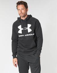 Oblačila Moški Puloverji Under Armour RIVAL FLEECE SPORTSTYLE LOGO HOODIE Črna