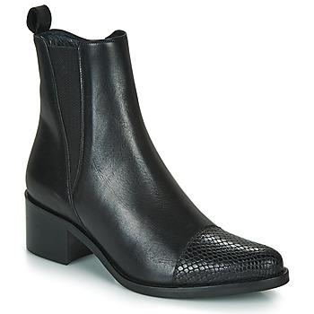 Čevlji  Ženske Gležnjarji Myma PETULA Črna