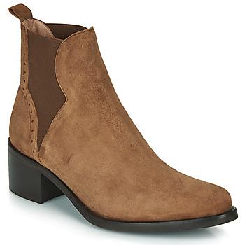 Čevlji  Ženske Gležnjarji Myma PALMA Cognac