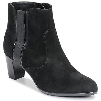 Čevlji  Ženske Gležnjarji Ara 43413-73 Črna