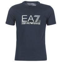 Oblačila Moški Majice s kratkimi rokavi Emporio Armani EA7 GPT81-PJM9Z-1554 Modra
