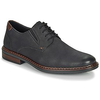 Čevlji  Moški Čevlji Derby Rieker 17600-03 Črna