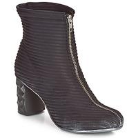Čevlji  Ženske Gležnjarji Papucei TEO BLACK Črna