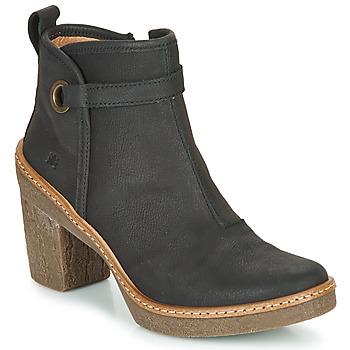 Čevlji  Ženske Gležnjarji El Naturalista HAYA Črna