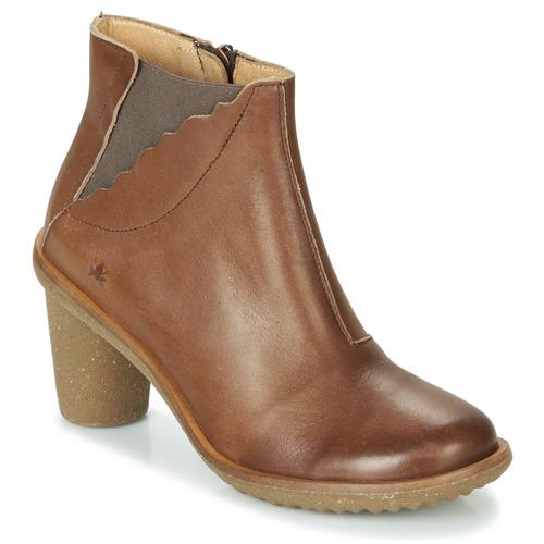 Čevlji  Ženske Gležnjarji El Naturalista TRIVIA Kostanjeva