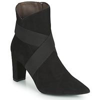 Čevlji  Ženske Gležnjarji Perlato 11327-CAM-NOIR Črna