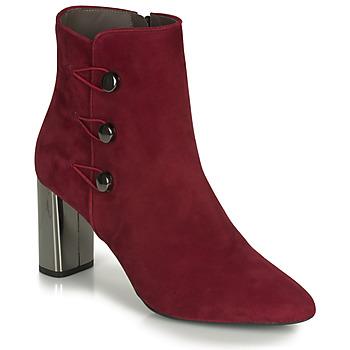 Čevlji  Ženske Gležnjarji Perlato 11312-CAM-ROUGE Rdeča