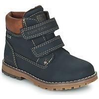 Čevlji  Dečki Polškornji Tom Tailor 73003-BLEU Modra