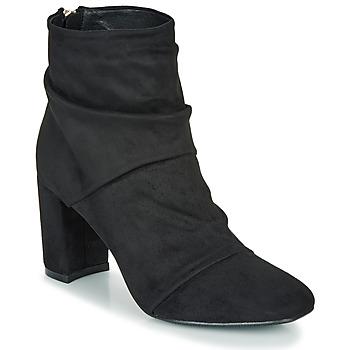 Čevlji  Ženske Gležnjarji Moony Mood FIRETTE Črna
