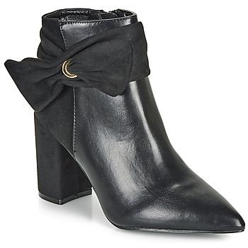 Čevlji  Ženske Gležnjarji Moony Mood FALABEL Črna