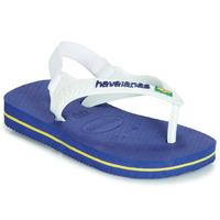Čevlji  Otroci Sandali & Odprti čevlji Havaianas BABY BRASIL LOGO Modra