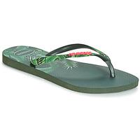 Čevlji  Ženske Japonke Havaianas SLIM SENSATION Zelena