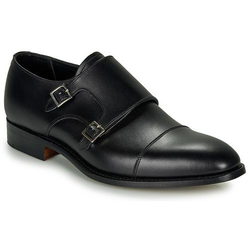 Čevlji  Moški Čevlji Richelieu Barker FORD Črna
