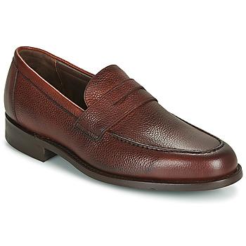 Čevlji  Moški Mokasini Barker JEVINGTON Bordo