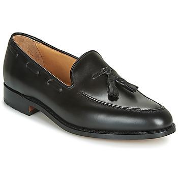 Čevlji  Moški Mokasini Barker TASSEL Črna