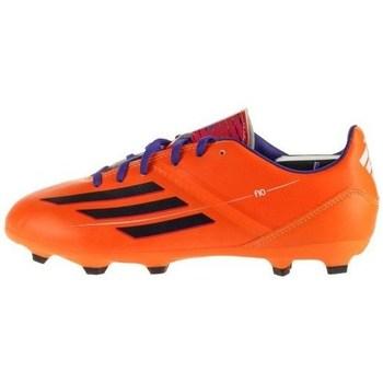Čevlji  Otroci Nogomet adidas Originals F10 Trx FG J Črna, Oranžna