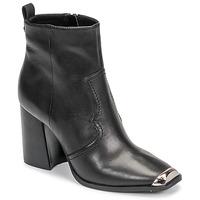Čevlji  Ženske Gležnjarji Steve Madden ENZO Črna