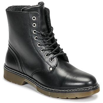 Čevlji  Deklice Polškornji Bullboxer AHC501E6LC-BLBLK Črna