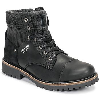 Čevlji  Dečki Polškornji Bullboxer AHA518E6L-BLCK Črna