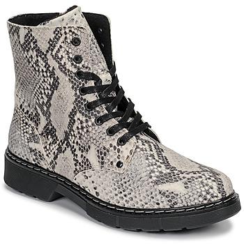 Čevlji  Deklice Polškornji Bullboxer AHC501E6LEOF-WHKB Siva