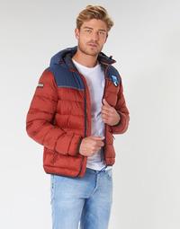 Oblačila Moški Puhovke Napapijri ARIC Rdeča