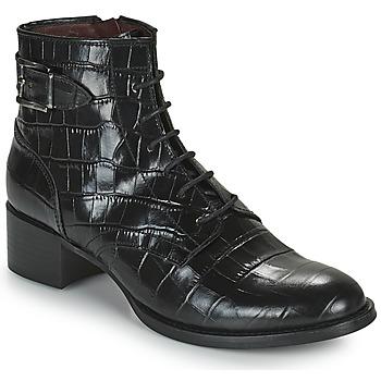 Čevlji  Ženske Gležnjarji Muratti RIESEL Črna