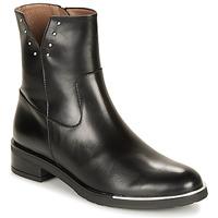 Čevlji  Ženske Polškornji Wonders C5437-OREGON-NEGRO Črna