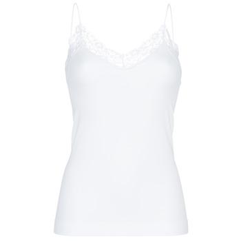 Spodnje perilo Ženske Spodnje majice Pieces PCTOLOA Bela