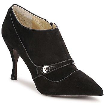 Čevlji  Ženske Nizki škornji Marc Jacobs MJ19138 Črna