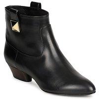 Čevlji  Ženske Gležnjarji Marc Jacobs MJ19102 Črna