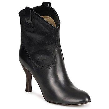 Čevlji  Ženske Gležnjarji Marc Jacobs MJ19064 Črna
