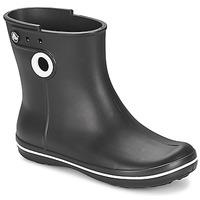 Čevlji  Ženske škornji za dež  Crocs JAUNT SHORTY BOOT W-BLACK Črna