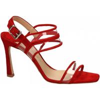 Čevlji  Ženske Sandali & Odprti čevlji The Seller CAMOSCIO rosso