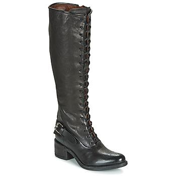 Čevlji  Ženske Mestni škornji    Airstep / A.S.98 OPEA LACE Črna