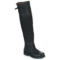 Čevlji  Ženske Mestni škornji    Airstep / A.S.98 BRET HIGH Črna