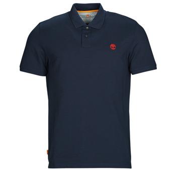 Oblačila Moški Polo majice kratki rokavi Timberland SS MR Polo Slim DARK SAPPHIRE Modra