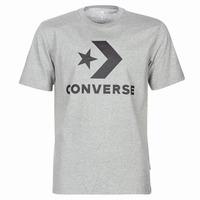 Oblačila Moški Majice s kratkimi rokavi Converse STAR CHEVRON Siva