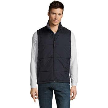 Oblačila Moški Puhovke Sols WARM PRO WORK Azul