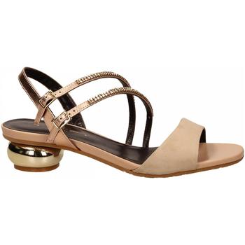 Čevlji  Ženske Sandali & Odprti čevlji Tiffi T1 AMALFI CAMEL / T2 ROSE RESTO CAMPIONE camel---rose