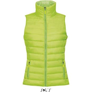 Oblačila Ženske Telovnik  Sols WAVE LIGHTWEIGHT WOMEN Verde