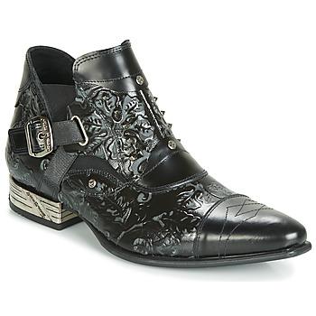 Čevlji  Moški Polškornji New Rock BRAVA Črna